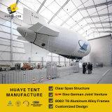 صنع وفقا لطلب الزّبون يصمّغ كبيرة ألومنيوم حظيرة خيمة لأنّ طائرة [بركينغ را] ([ب1] [هف])