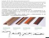 Perfis multifunções LGA de borracha em alumínio com revestimento de alumínio antiderrapante