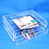 Cadre de mémoire à 3 couches acrylique de tiroir
