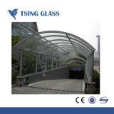 3-19mm Templado de Vidrio curvado /templado vidrio curvado con agujeros / recorte
