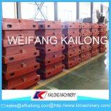 Caja de moldeo dúctil de bastidor de la fundición de hierro de /Grey del hierro del precio bajo