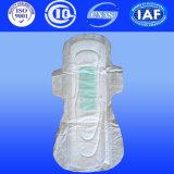 Anion Sanitary Napkins for Women Coussinets hygiéniques pour femme Hygiène avec PE sec (A140)