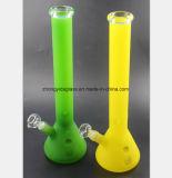 La pipe en verre multicolore de Smokeing de 17.7 «pétroles réutilisent la pipe en verre