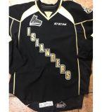 Настроить Qmjhl Charlottetown островов 2013-Pres 7 Брэдли Кеннеди 23 Кертис весы мужская женщин Детский Хоккей дешевые футболках Nikeid Goalit разрез