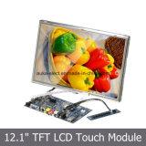"""Resolutie LCD TFT 1280X800 SKD 12.1 het """" Scherm van de Vertoning met Aanraking"""