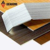 China Fornecedor Guangdong acabamento em madeira Folha composto de Metal