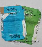 Flache Unterseiten-Packpapier-Ventil-Beutel für das chemische Puder-Verpacken