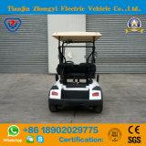 Питание от аккумуляторной батареи 48V 4 пассажиров мини-гольф тележка для курорта