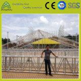 600 mm * 760 mm Tornillo de aluminio grande Actividades gran evento Etapa braguero LED