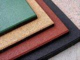 Playground Baldosas de caucho, goma de colores pavimentadora, mosaico de goma exterior