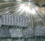Hot-DIP galvanisiertes 60X30mm 80X40mm flaches ovales Stahlgroßhandelsgefäß