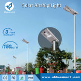 80W solar integrada a luz do LED do sensor de movimentos com painel solar