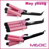 M601c bester Verkaufs-dreifacher Zylinder-Entwurfs-elektrischer Haar-Lockenwickler