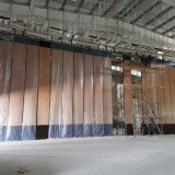 Borda de alumínio acústico parede divisória móvel para sala multifuncional