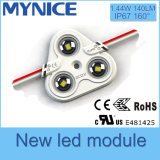 Módulo de la inyección del precio al por mayor LED con alto brillo de la lente 5 años de garantía