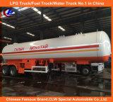 De bulk Oplegger van LPG 20tons van het Vervoer ASME van LPG Standaard