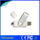Échantillon gratuit de 8 Go de mémoire flash USB OTG pivotant d'entraînement