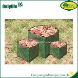 Onlylife Household Square Garden Bag Folhas Coletor