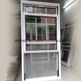 Amerikanisch gehangenes thermischer Bruch-Aluminiumfenster, doppeltes gehangenes Aluminiumfenster aussondern