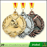 金Silver Bronze 3D Logo Metal Sports Medal