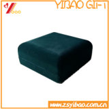 Boîte cadeau velours vert personnalisé pour le package (YB-VB-003)