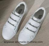 Los niños correr Deportes Skate chicas zapatillas zapatos de la escuela Blanco (518)