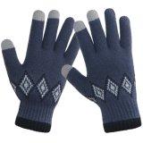 Hommes 100 % laine mérinos gant tricoté