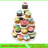5 de Houder van Cupcake van de Tribune van Cupcake van de rij