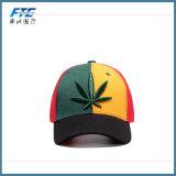 Zoll strukturierter Firmenzeichen-Baseballmütze-Hysteresen-Hut der Stickerei-3D