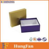 Подгонянная роскошью твердая цветастая коробка упаковки подарка бумаги печатание