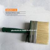 Cepillo de pintura de madera de la cerda de la maneta F-03