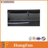 Impresión UV negro Spot Embalaje bolsa de papel con el logotipo personalizado