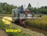 Moissonneuse de cartel en caoutchouc de chenille de Wishope pour le riz et le blé
