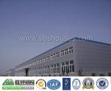 Structure en acier de construction et de plantes d'entrepôt de deux étages