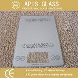 Todos os tipos de impressão serigráfica padrão de vidro temperado