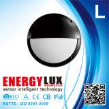 E-L19h con la lampada da parete esterna d'attenuazione Emergency di funzione LED del sensore