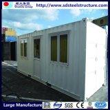HOME modulares pré-fabricadas do recipiente do bloco liso de 20FT