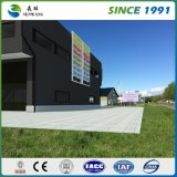 Непосредственно на заводе сборных легких стальных структуре склада