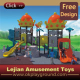 CE complet de Fun enfants d'âge scolaire Playground Equipment attractions (X1279-11)
