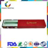 Rectángulo de empaquetado de papel de los cosméticos de la alta calidad de la impresión que corta con tintas en color