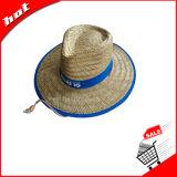 Chapéu oco da promoção do chapéu de palha do chapéu de palha da arremetida do chapéu de palha