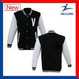 Healong 중국 싼 가격 의복 기어 판매를 위한 어떤 로고 남자의 야구 재킷