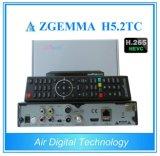 Zgemma H5.2tc DVB-S2 + 2 * DVB-T2/CはハイブリッドチューナーH. 265/Hevcのコンボ衛星デコーダー二倍になる