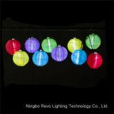 Araña de luces de la cadena de linterna solar (RS1012B)