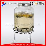 Оптовая торговля цветные стекла питьевой диспенсер для напитков с Rooster дизайн