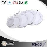 Ronda SMD LED ajustable de 8 pulgadas de la luz del panel de luces del panel LED