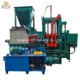 Qt4-20c halb automatischer hydraulischer Straßenbetoniermaschine-Höhlung-Kleber verwendeter Betonstein, der Maschine für Verkauf herstellt