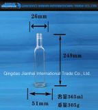 Quadrada garrafa de cerveja de vidro para armazenamento de líquidos