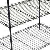 Nível 5 de alta qualidade casa moderna para rack de arame de aço revestido a epóxi