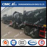 Cimc Huajunの貨物ボディが付いているJAC 6X4のダンプかダンプカートラック